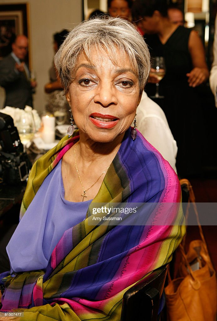 Actress Ruby Dee attends a celebration of Ruby Dee's style at Melba's restaurant on June 9, 2008 in New York City.