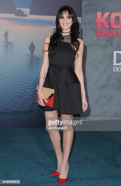 Actress Ruby Modine arrives at the Los Angeles Premiere 'Kong Skull Island' at Dolby Theatre on March 8 2017 in Hollywood California