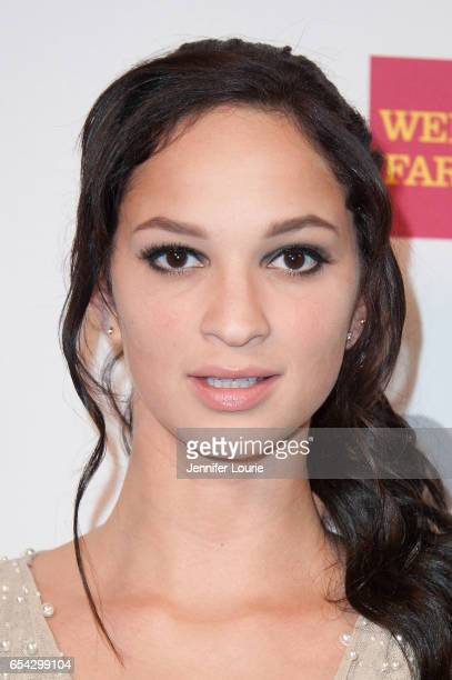 Actress Ruby Modine attends the American Red Cross Centennial Celebration to Honor Disney as the 'Humanitarian Company of The Year' at the Beverly...