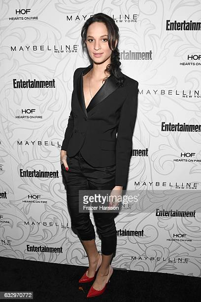 Actress Ruby Modine attends the Entertainment Weekly Celebration of SAG Award Nominees sponsored by Maybelline New York at Chateau Marmont on January...