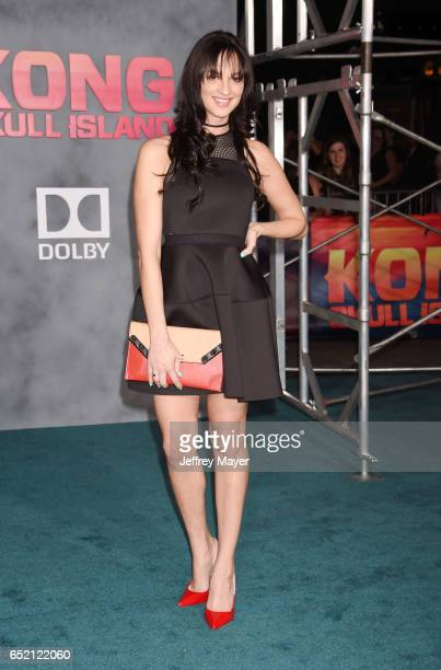 Actress Ruby Modine attends the premiere of Warner Bros Pictures' 'Kong Skull Island' at the Dolby Theatre on March 8 2017 in Hollywood California