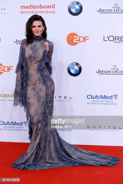 Actress Ruby O Fee attends the Lola German Film Award red carpet at Messe Berlin on April 28 2017 in Berlin Germany