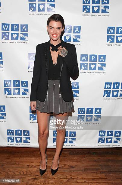 Actress Ruby Rose attends 'Orange Is The New Black' Season 3 screening benefiting the Women's Prison Association at The Ainsworth on June 12 2015 in...