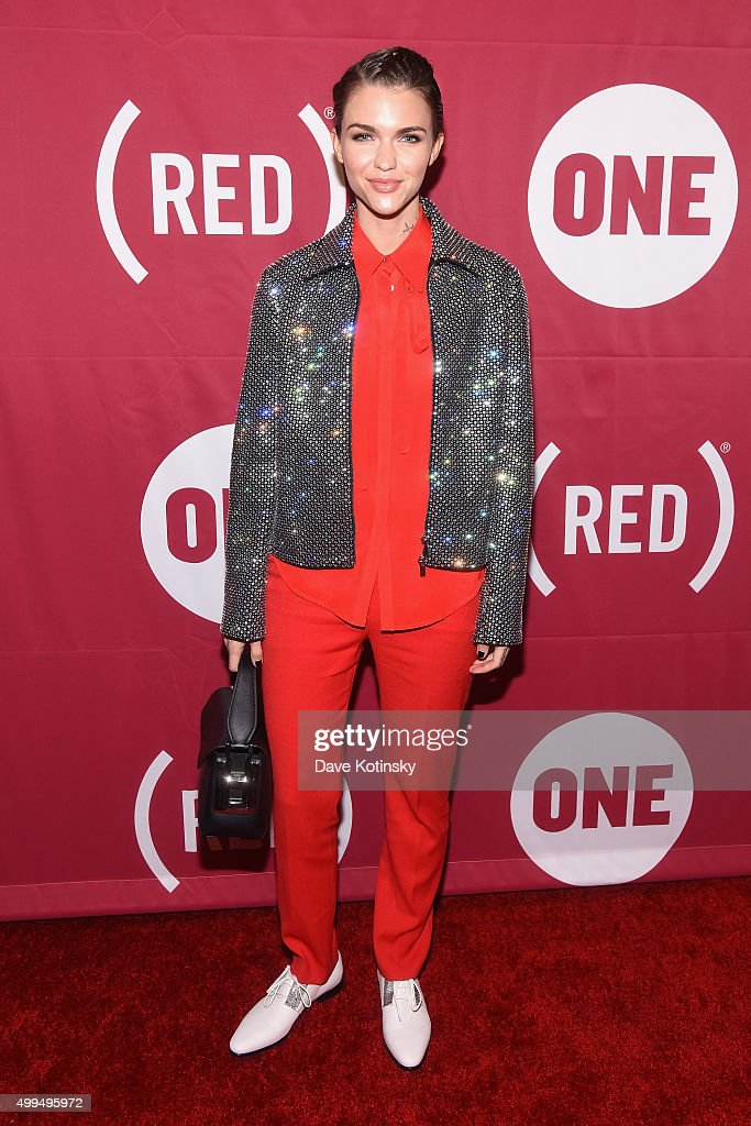Actress Ruby Rose attends the ONE Campaign and 's concert to mark World AIDS Day celebrate the incredible progress that's been made in the fights...