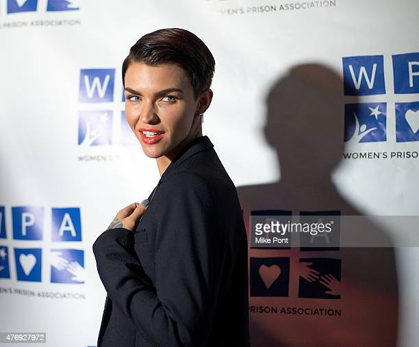 Actress Ruby Rose attends the 'Orange is the New Black' season 3 premiere party benefiting the Women's Prison Association at The Ainsworth on June 12...