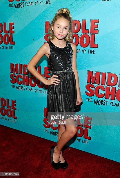 Actress Ruby Rose Turner attends the Los Angeles red carpet screening of 'Middle School The Worst Years Of My Life' at TCL Chinese Theatre on October...