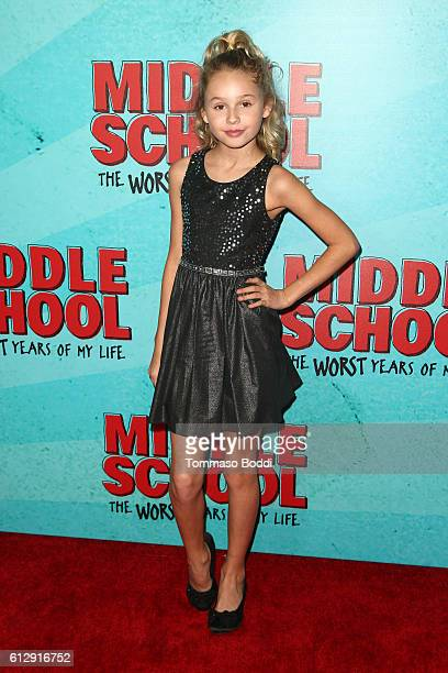 Actress Ruby Rose Turner attends the premiere of CBS Films' 'Middle School The Worst Years Of My Life' at TCL Chinese 6 Theatres on October 5 2016 in...