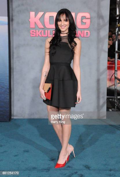 Actress Ruby Wylder Rivera Modine arrives for the Premiere of Warner Bros Pictures' 'Kong Skull Island' at Dolby Theatre on March 8 2017 in Hollywood...