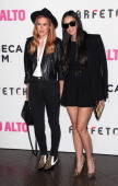 Actress Rumer Willis and mother actress Demi Moore attend the premiere of Tribeca Film's 'Palo Alto' at the Directors Guild of America on May 5 2014...