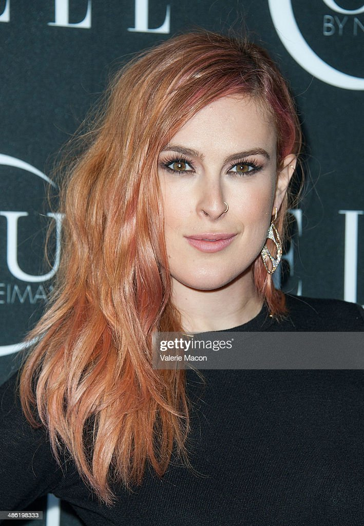 Actress Rumer Willis arrives at ELLE's 5th Annual Women In Music Concert Celebration Presented by CUSP By Neiman Marcus at Avalon on April 22, 2014 in Hollywood, California.