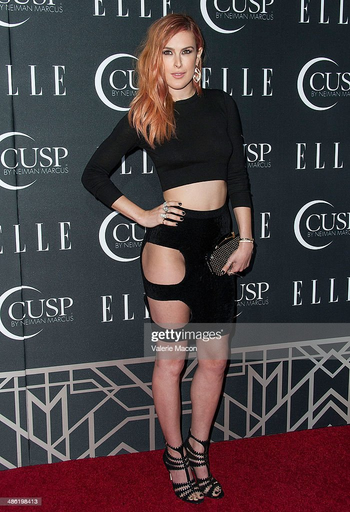 Actress <a gi-track='captionPersonalityLinkClicked' href=/galleries/search?phrase=Rumer+Willis&family=editorial&specificpeople=617003 ng-click='$event.stopPropagation()'>Rumer Willis</a> arrives at ELLE's 5th Annual Women In Music Concert Celebration Presented by CUSP By Neiman Marcus at Avalon on April 22, 2014 in Hollywood, California.