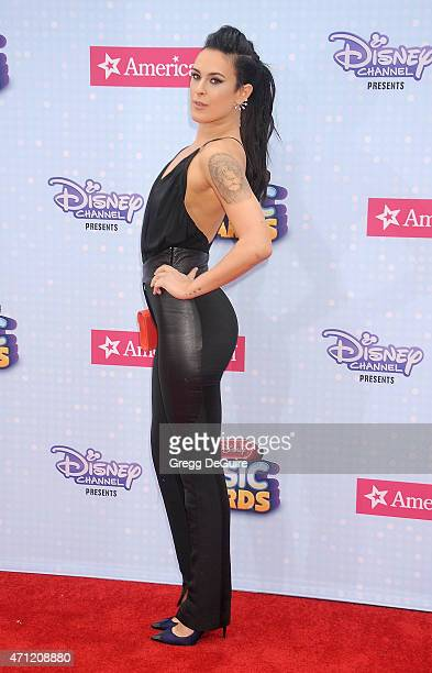 Actress Rumer Willis arrives at the 2015 Radio Disney Music Awards at Nokia Theatre LA Live on April 25 2015 in Los Angeles California