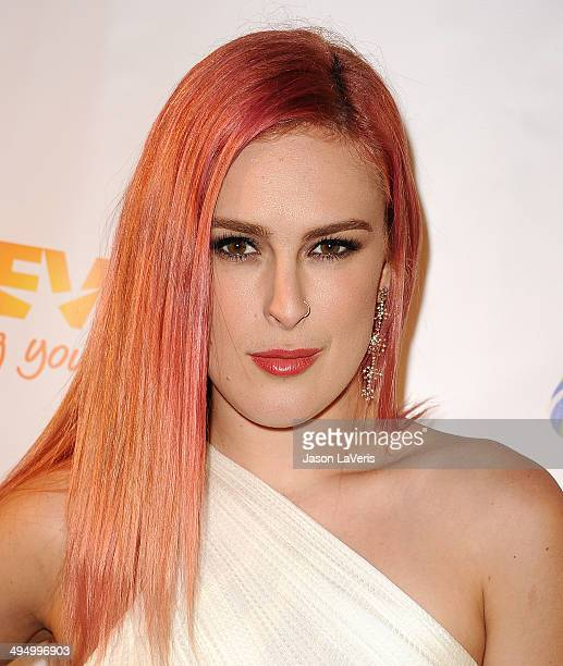 Actress Rumer Willis attends Prom 2014 A Night Out For Trevor at Petersen Automotive Museum on May 31 2014 in Los Angeles California