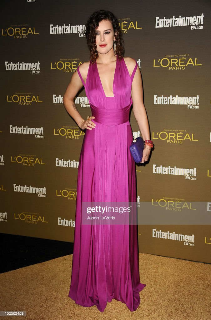 Actress Rumer Willis attends the 2012 Entertainment Weekly pre-Emmy party at Fig & Olive Melrose Place on September 21, 2012 in West Hollywood, California.