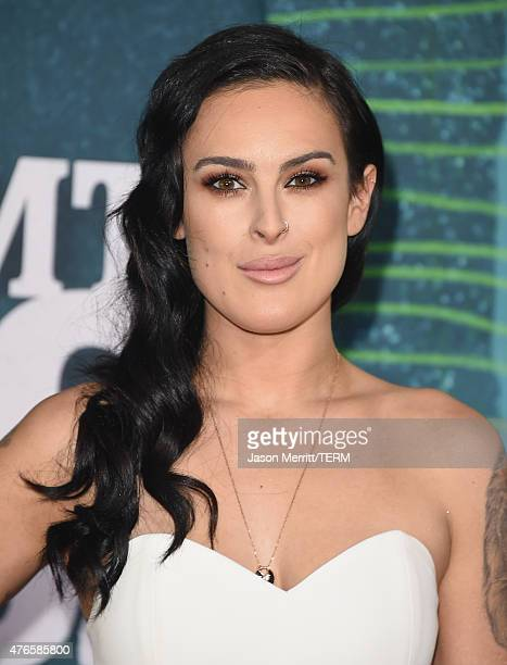Actress Rumer Willis attends the 2015 CMT Music awards at the Bridgestone Arena on June 10 2015 in Nashville Tennessee