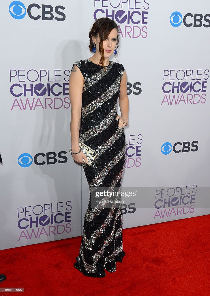 Actress Rumer Willis attends the 39th Annual People's Choice Awards at Nokia Theatre L.A. Live on January 9, 2013 in Los Angeles, California.