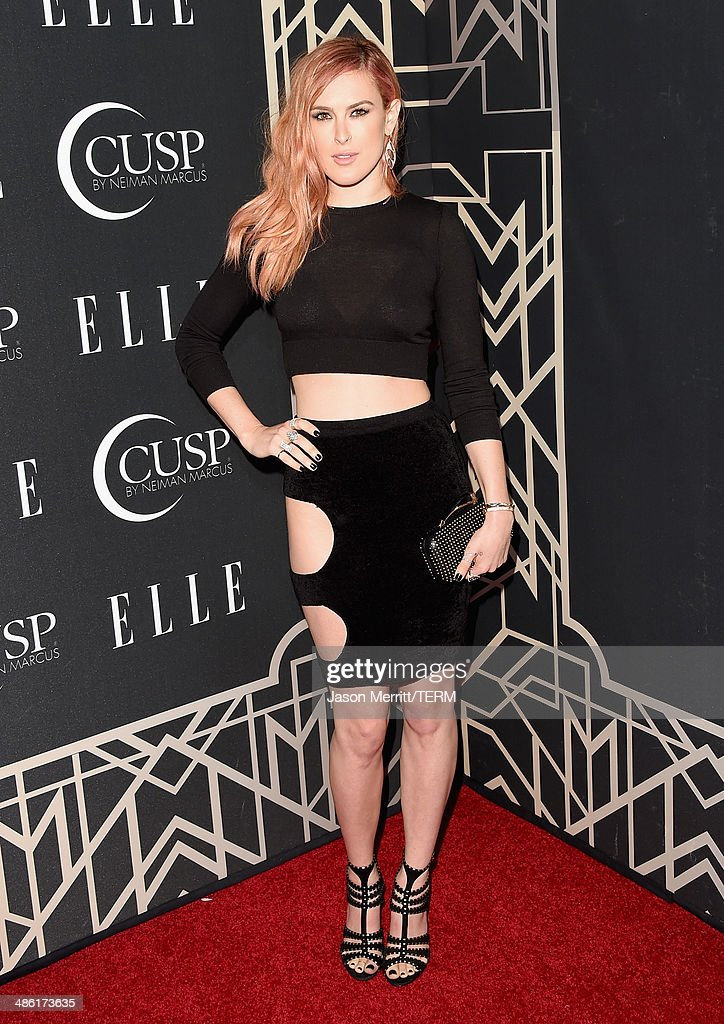 Actress Rumer Willis attends the 5th Annual ELLE Women in Music Celebration presented by CUSP by Neiman Marcus. Hosted by ELLE Editor-in-Chief Robbie Myers with performances by Sarah McLachlan, Angel Haze and Betty Who, with special DJ set by Rumer Willis at Avalon on April 22, 2014 in Hollywood, California.