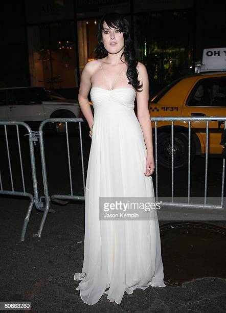 Actress Rumer Willis attends the 7th Annual Tribeca Film Festival 'From Within' Premiere at AMC 19th Street on April 25 2008 in New York City