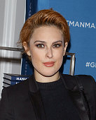 Actress Rumer Willis attends the Chris Salgardo's 'MANMADE' book prelaunch party at Saks Fifth Avenue on November 19 2015 in New York City
