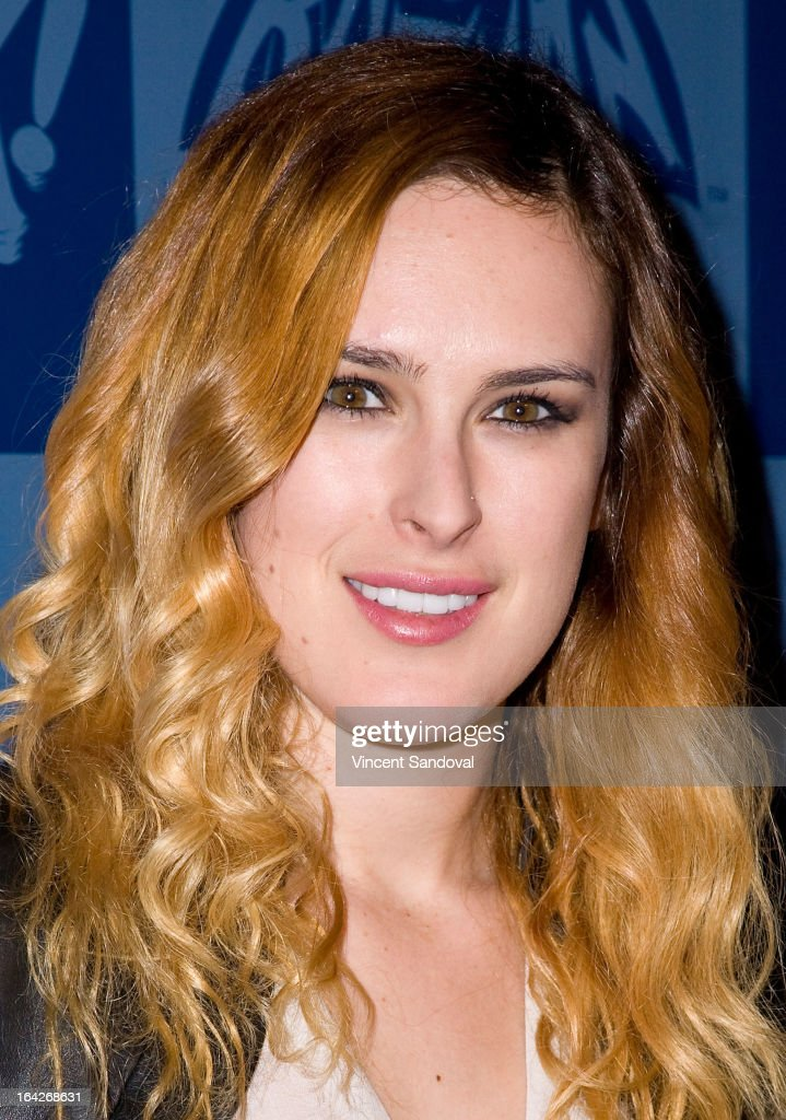 Actress Rumer Willis attends the launch of the Batman classic TV series licensing program at Meltdown Comics and Collectibles on March 21, 2013 in Los Angeles, California.