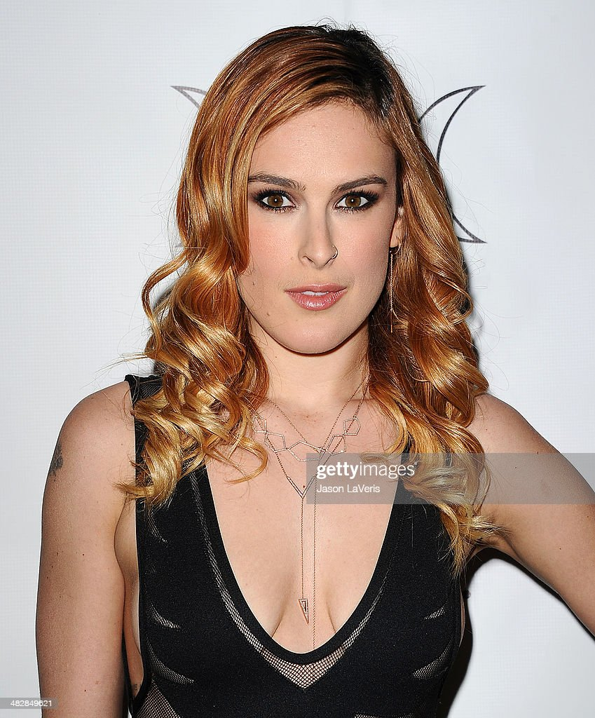 Actress Rumer Willis attends the launch of 'The Clothing Coven' at Elodie K. on April 4, 2014 in West Hollywood, California.