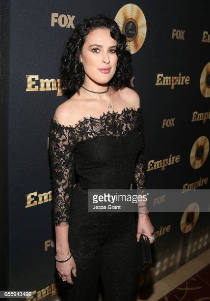 Actress Rumer Willis attends the Spring Premiere of FOX's 'Empire' at Pacific Theatres at The Grove on March 20 2017 in Los Angeles California