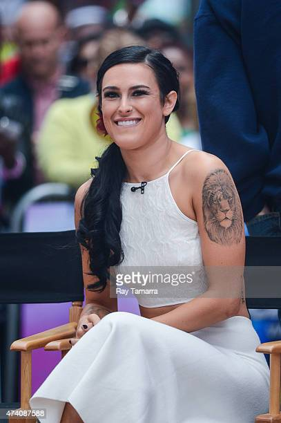 Actress Rumer Willis tapes an interview at 'Good Morning America' at ABC Times Square Studios on May 20 2015 in New York City