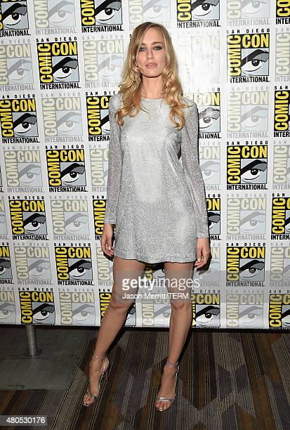 Actress Ruta Gedmintas attends FX's 'The Strain' Press Line during ComicCon International 2015 at Hilton Bayfront on July 12 2015 in San Diego...