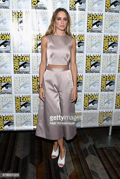 Actress Ruta Gedmintas attends FX's 'The Strain' press line during ComicCon International 2016 at Hilton Bayfront on July 21 2016 in San Diego...