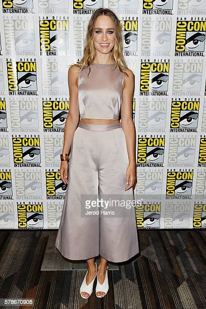 Actress Ruta Gedmintas attends the press line for 'The Strain' at Comic Con on July 21 2016 in San Diego California