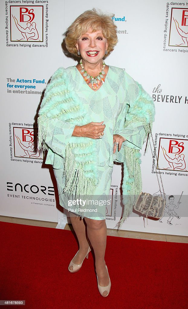 Actress Ruta Lee attending the Professional Dancers Society's 27th Annual Gypsy Award Luncheon at The Beverly Hilton Hotel on March 30, 2014 in Beverly Hills, California.