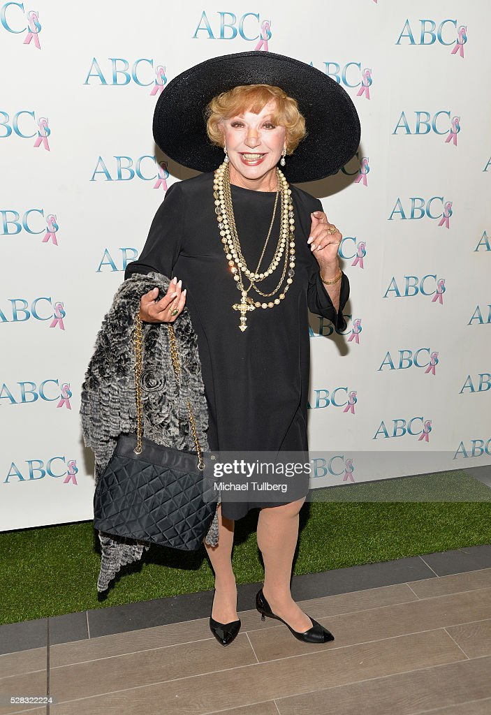 Actress <a gi-track='captionPersonalityLinkClicked' href=/galleries/search?phrase=Ruta+Lee&family=editorial&specificpeople=1547229 ng-click='$event.stopPropagation()'>Ruta Lee</a> attends the Associates For Breast and Prostate Cancer Studies' annual Mother's Day Luncheon at Four Seasons Hotel Los Angeles at Beverly Hills on May 4, 2016 in Los Angeles, California.