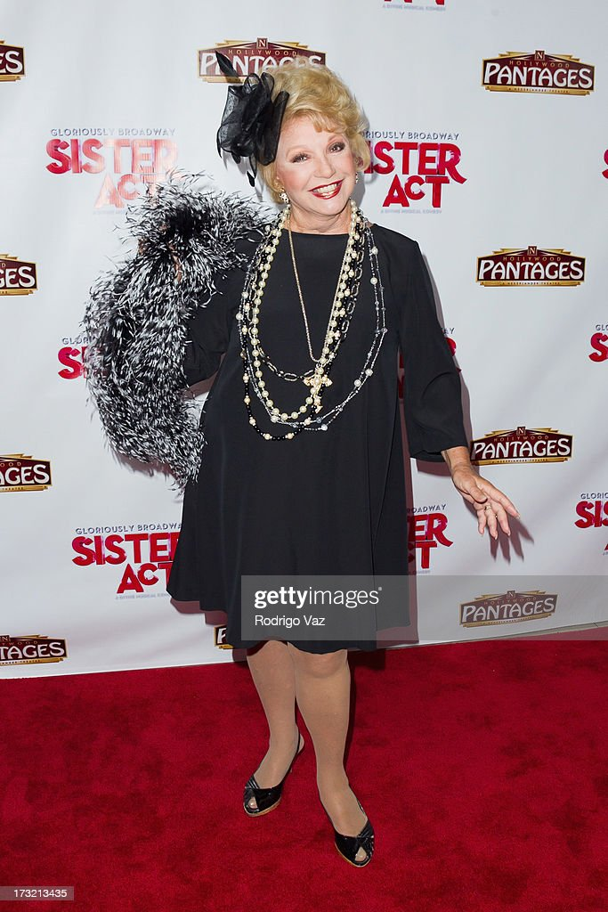 Actress <a gi-track='captionPersonalityLinkClicked' href=/galleries/search?phrase=Ruta+Lee&family=editorial&specificpeople=1547229 ng-click='$event.stopPropagation()'>Ruta Lee</a> attends the Los Angeles Show Premiere of 'Sister Act' at the Pantages Theatre on July 9, 2013 in Hollywood, California.