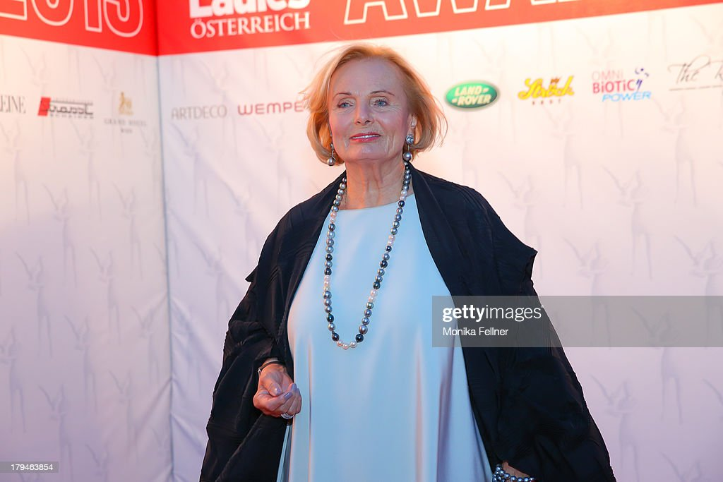 Actress Ruth Maria Kubitschek attends the Leading Ladies Awards 2013 at Belvedere Palace on September 3, 2013 in Vienna, Austria.
