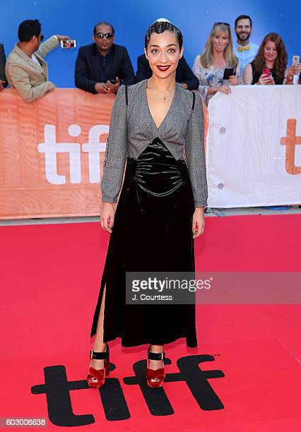 Actress Ruth Negga arrives at the 2016 Toronto International Film Festival Premiere of 'Loving' at Roy Thomson Hall on September 11 2016 in Toronto...