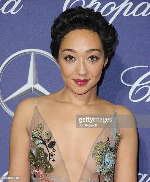 Actress Ruth Negga arrives at the 28th Annual Palm Springs International Film Festival Film Awards Gala at Palm Springs Convention Center on January...