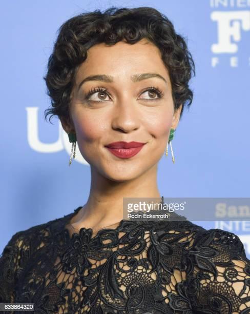 Actress Ruth Negga attends 32nd Santa Barbara International Film Festival Virtuosos on February 4 2017 in Santa Barbara California