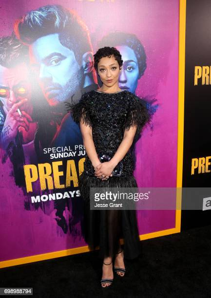 Actress Ruth Negga attends AMC's 'Preacher' Season 2 Premiere at the Theater at the Ace Hotel on June 20 2017 in Los Angeles California