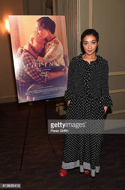 Actress Ruth Negga attends 'LOVING' VIP Screening Private Reception hosted by Ruth Negga at Davio's on October 9 2016 in Atlanta Georgia