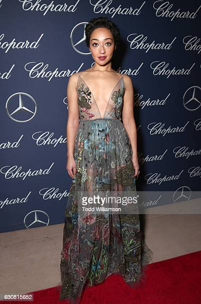 Actress Ruth Negga attends the 28th Annual Palm Springs International Film Festival Film Awards Gala at the Palm Springs Convention Center on January...