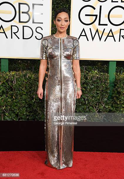 Actress Ruth Negga attends the 74th Annual Golden Globe Awards held at The Beverly Hilton Hotel on January 8 2017 in Beverly Hills California