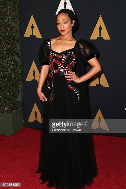 Actress Ruth Negga attends the Academy of Motion Picture Arts and Sciences' 8th annual Governors Awards at The Ray Dolby Ballroom at Hollywood...