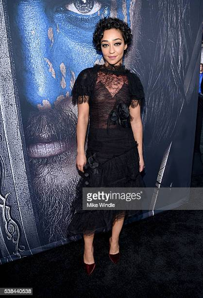 Actress Ruth Negga attends the premiere of Universal Pictures' 'Warcraft at TCL Chinese Theatre IMAX on June 6 2016 in Hollywood California