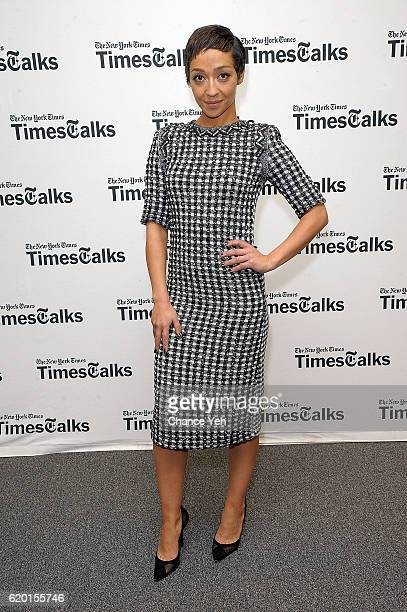 Actress Ruth Negga attends TimesTalks to discuss the film 'Loving' at the TimesCenter on November 1 2016 in New York City