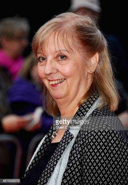 Actress Ruth Sheen attends the red carpet of 'Mr Turner' during the 58th BFI London Film Festival at Odeon West End on October 10 2014 in London...