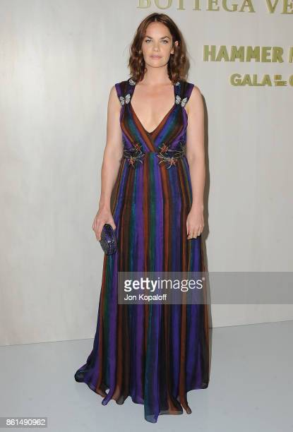 Actress Ruth Wilson arrives at Bottega Veneta Hosts Hammer Museum Gala In The Garden on October 14 2017 in Westwood California