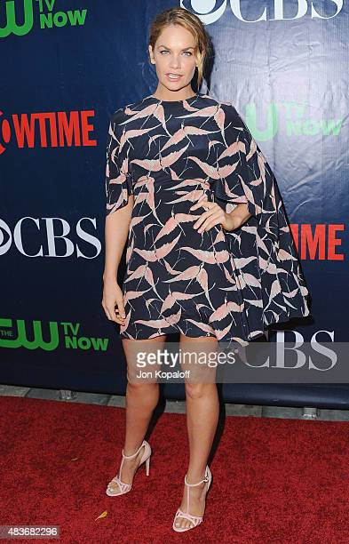 Actress Ruth Wilson arrives at CBS CW And Showtime 2015 Summer TCA Party at Pacific Design Center on August 10 2015 in West Hollywood California