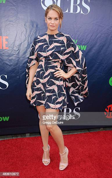 Actress Ruth Wilson arrives at the CBS CW And Showtime 2015 Summer TCA Party at Pacific Design Center on August 10 2015 in West Hollywood California