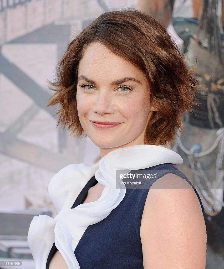 Actress <a gi-track='captionPersonalityLinkClicked' href=/galleries/search?phrase=Ruth+Wilson&family=editorial&specificpeople=3111655 ng-click='$event.stopPropagation()'>Ruth Wilson</a> arrives at the Los Angeles premiere 'The Lone Ranger' at Disney California Adventure Park on June 22, 2013 in Anaheim, California.