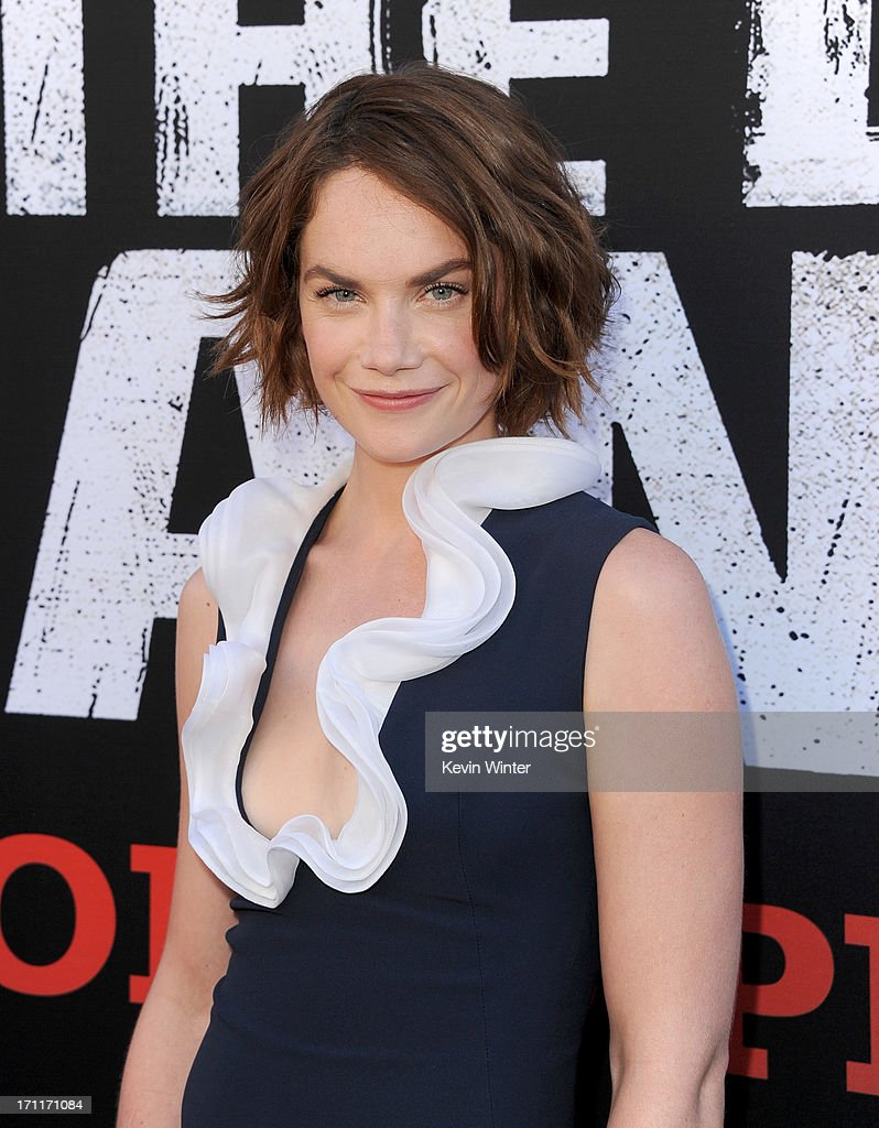 Actress Ruth Wilson arrives at the premiere of Walt Disney Pictures' 'The Lone Ranger' at Disney California Adventure Park on June 22, 2013 in Anaheim, California.